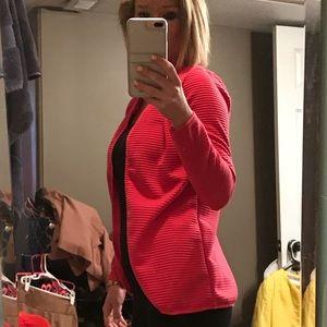 Sweaters - Hot pink cardigan very cute!